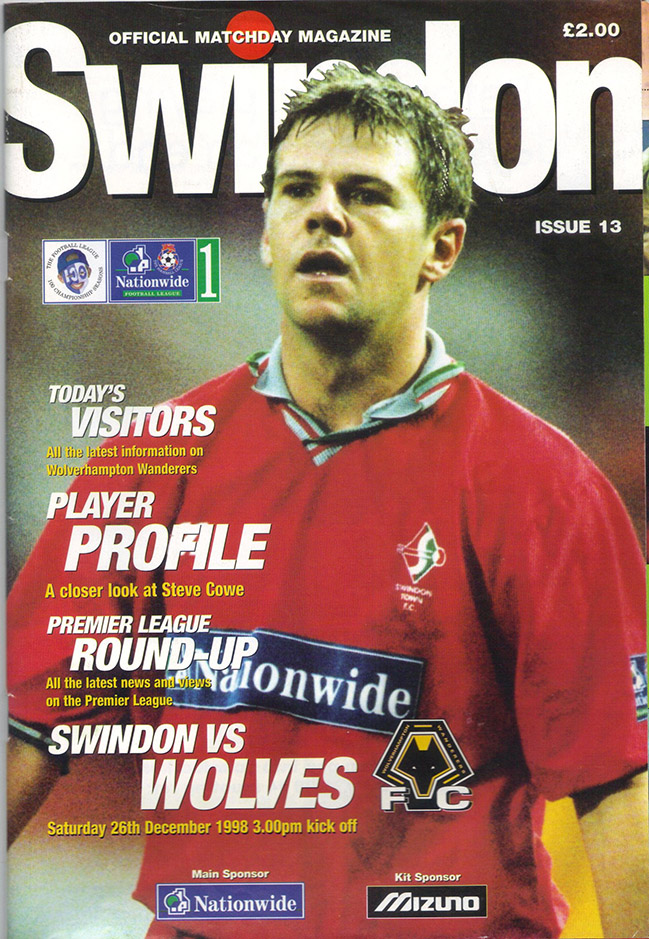 Saturday, December 26, 1998 - vs. Wolverhampton Wanderers (Home)