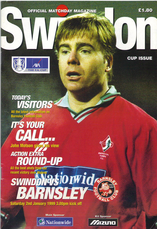 Saturday, January 2, 1999 - vs. Barnsley (Home)