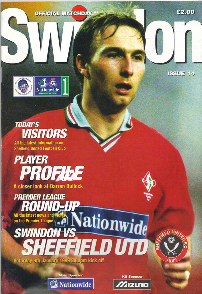 Saturday, January 9, 1999 - vs. Sheffield United (Home)