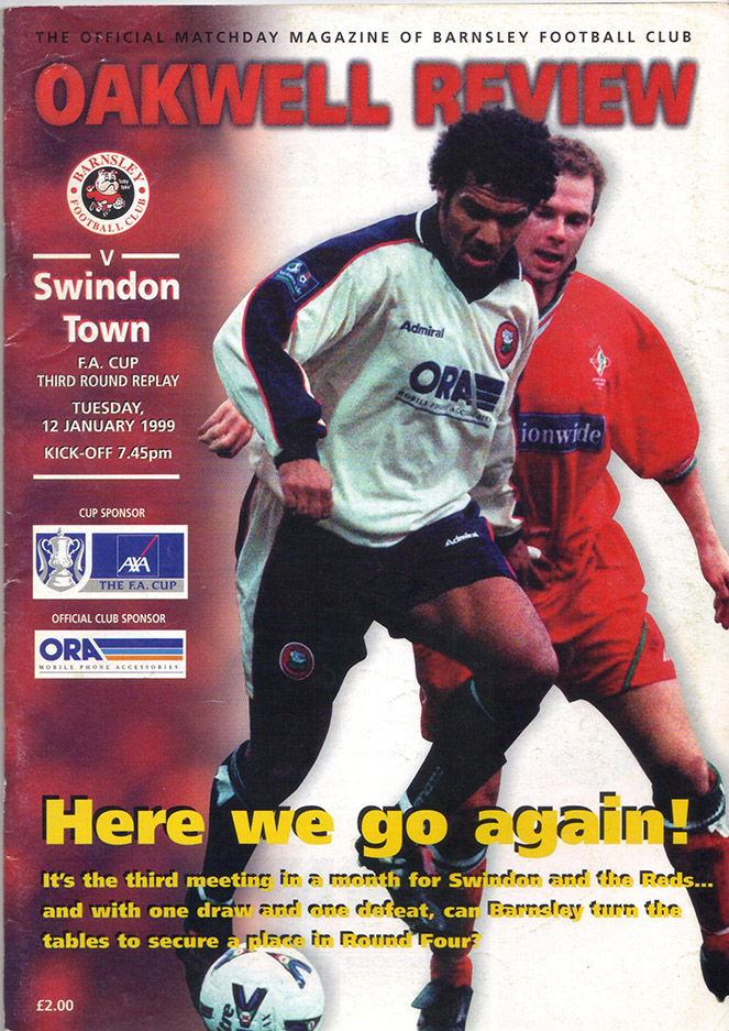 Tuesday, January 19, 1999 - vs. Barnsley (Away)