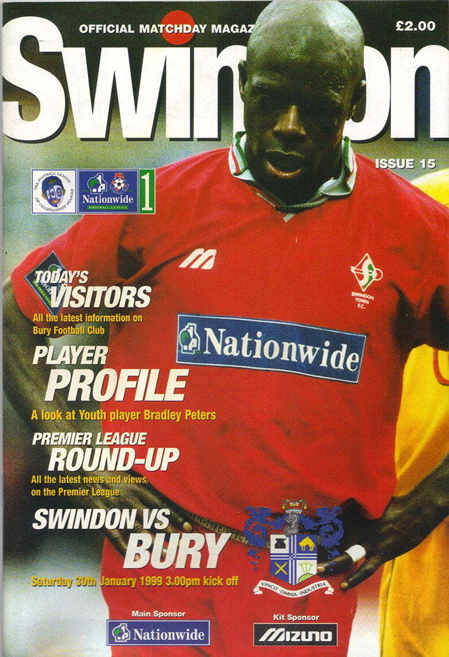 Saturday, January 30, 1999 - vs. Bury (Home)