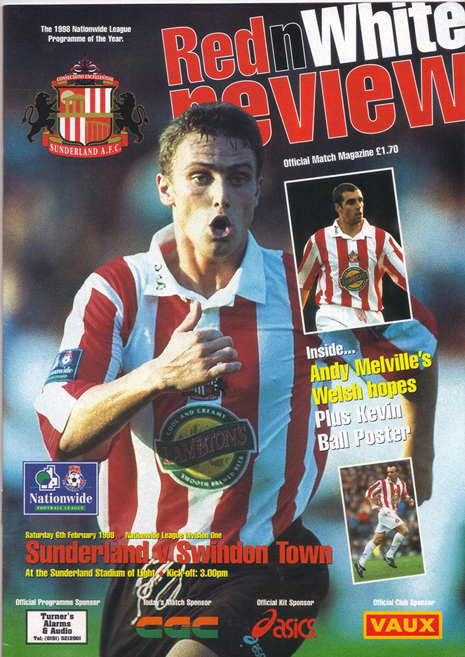 Saturday, February 6, 1999 - vs. Sunderland (Away)
