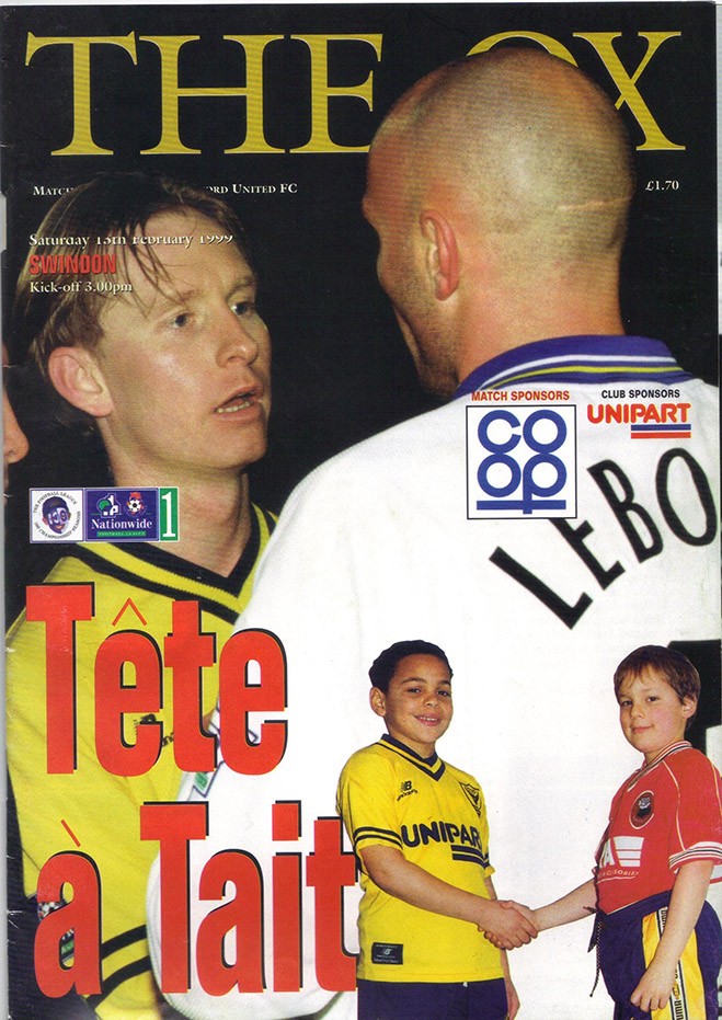 Saturday, February 13, 1999 - vs. Oxford United (Away)