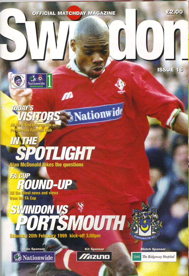 Saturday, February 20, 1999 - vs. Portsmouth (Home)