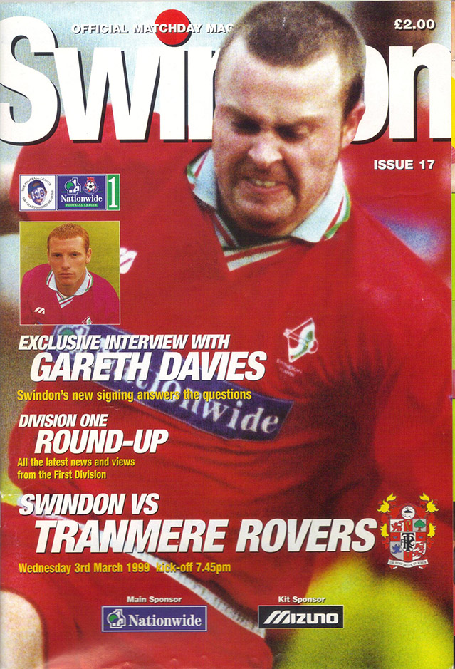 Wednesday, March 3, 1999 - vs. Tranmere Rovers (Home)