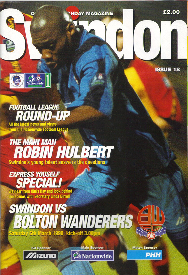 Saturday, March 6, 1999 - vs. Bolton Wanderers (Home)