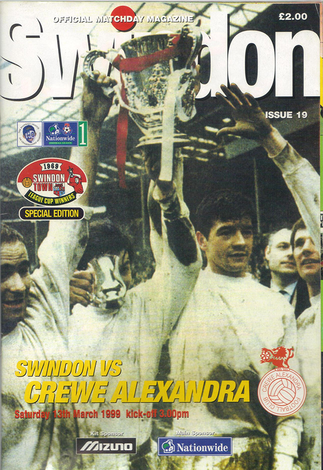 Saturday, March 13, 1999 - vs. Crewe Alexandra (Home)