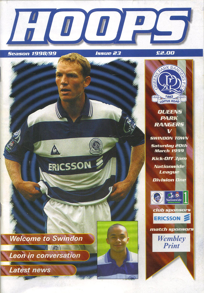 Saturday, March 20, 1999 - vs. Queens Park Rangers (Away)