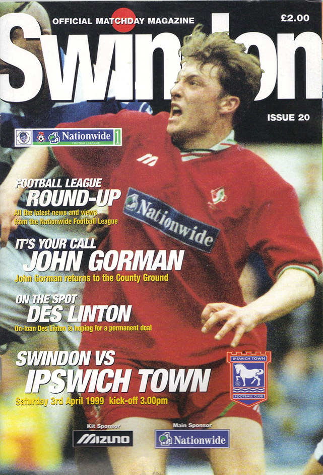 Saturday, April 3, 1999 - vs. Ipswich Town (Home)
