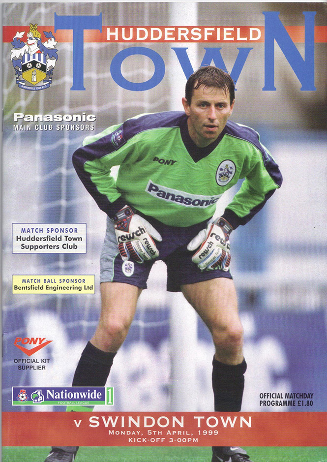 Monday, April 5, 1999 - vs. Huddersfield Town (Away)