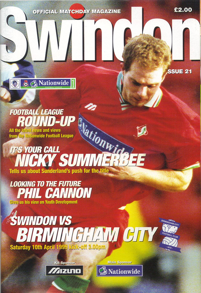 Saturday, April 10, 1999 - vs. Birmingham City (Home)