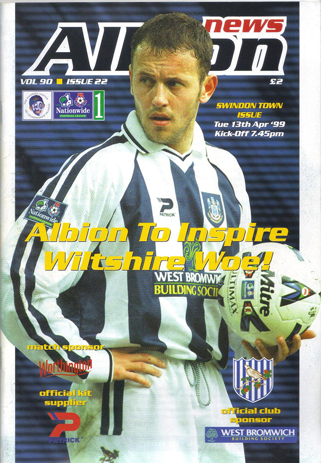 Tuesday, April 13, 1999 - vs. West Bromwich Albion (Away)