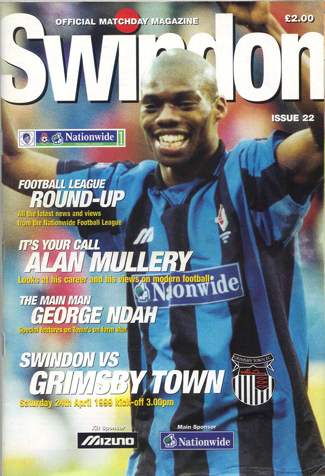 Saturday, April 24, 1999 - vs. Grimsby Town (Home)
