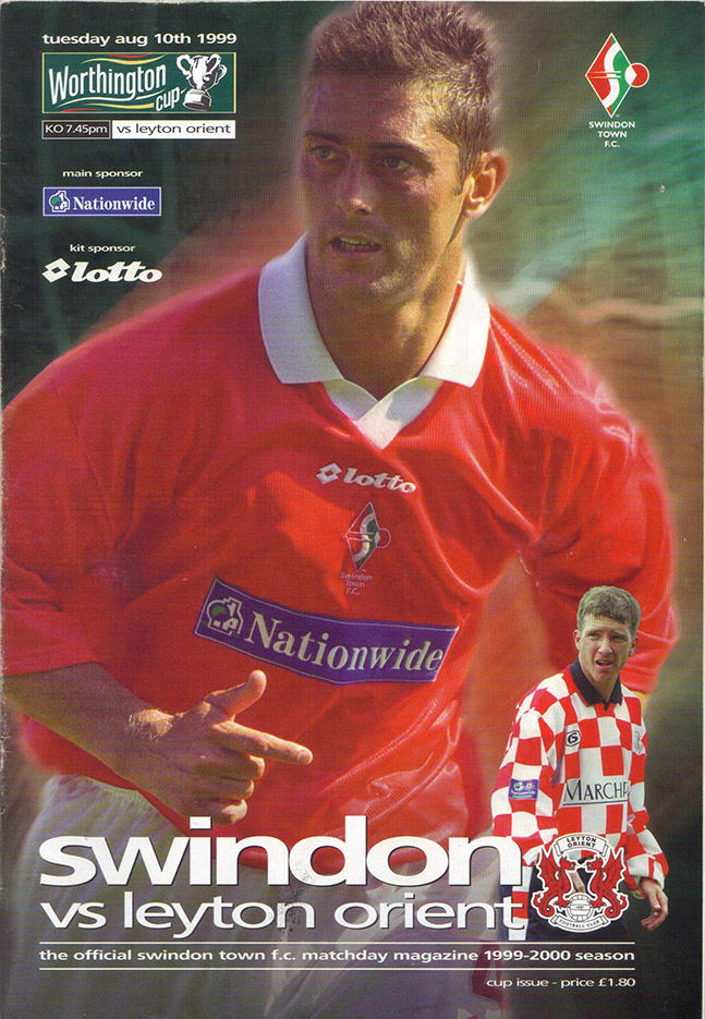 Tuesday, August 10, 1999 - vs. Leyton Orient (Home)