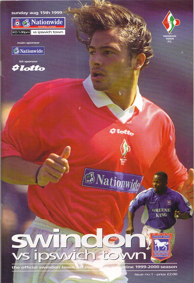Sunday, August 15, 1999 - vs. Ipswich Town (Home)