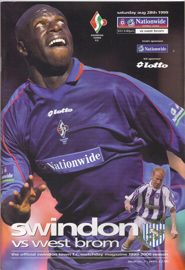 Saturday, August 28, 1999 - vs. West Bromwich Albion (Home)