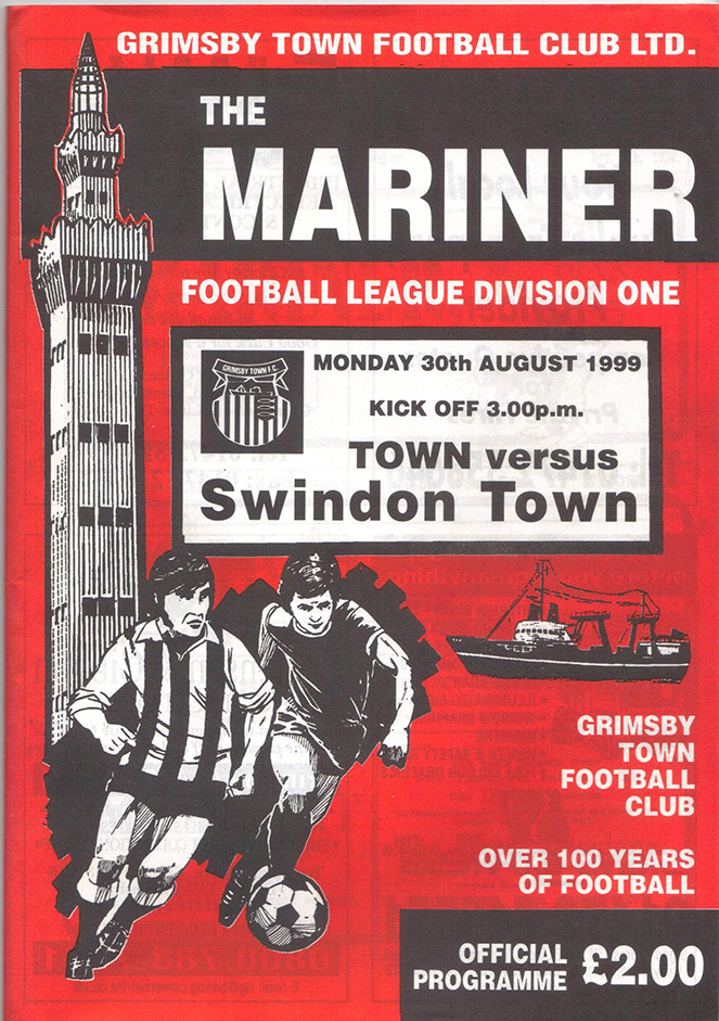 Monday, August 30, 1999 - vs. Grimsby Town (Away)