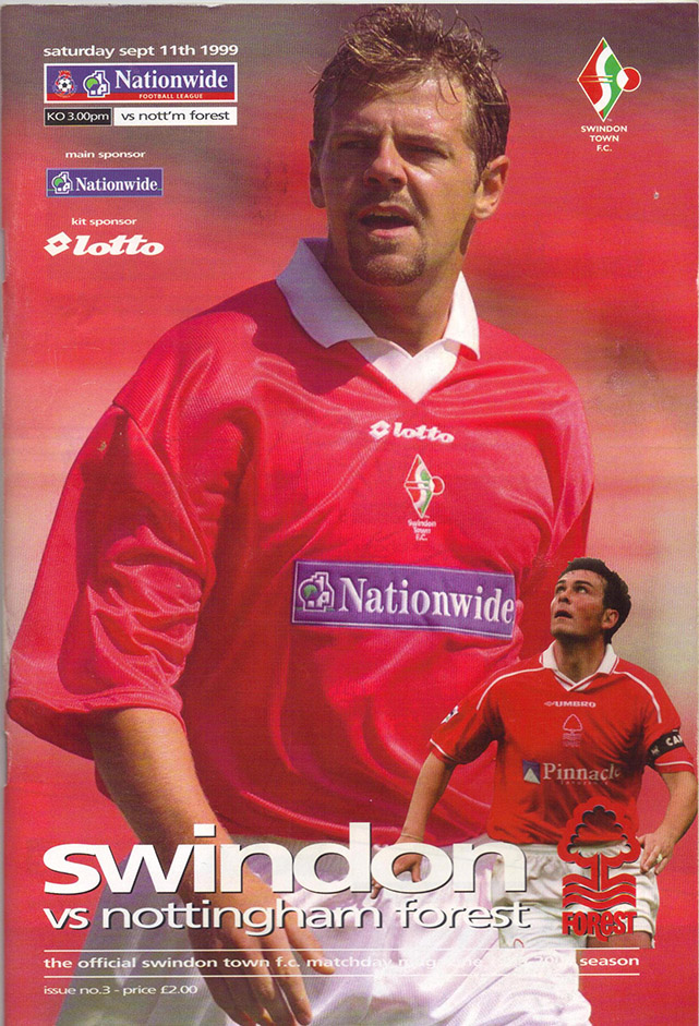 Saturday, September 11, 1999 - vs. Nottingham Forest (Home)