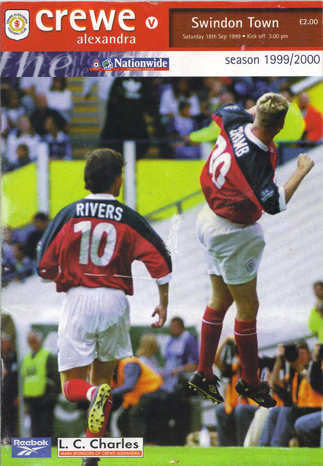 Saturday, September 18, 1999 - vs. Crewe Alexandra (Away)