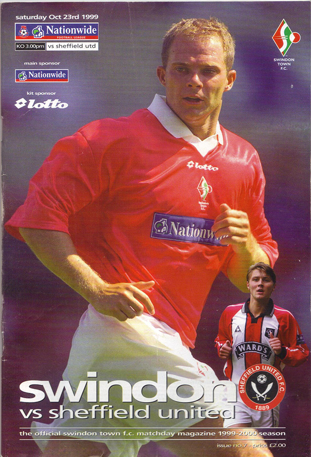Saturday, October 23, 1999 - vs. Sheffield United (Home)