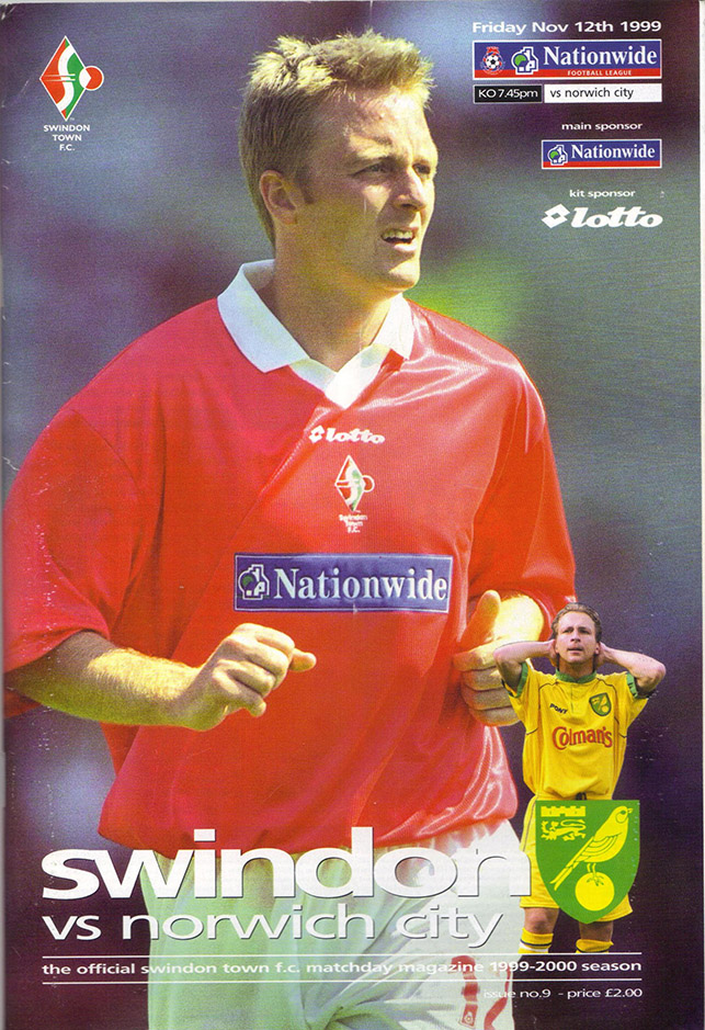 Friday, November 12, 1999 - vs. Norwich City (Home)
