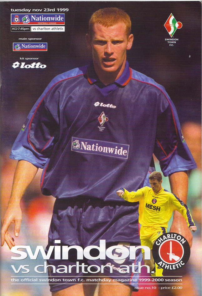Tuesday, November 23, 1999 - vs. Charlton Athletic (Home)