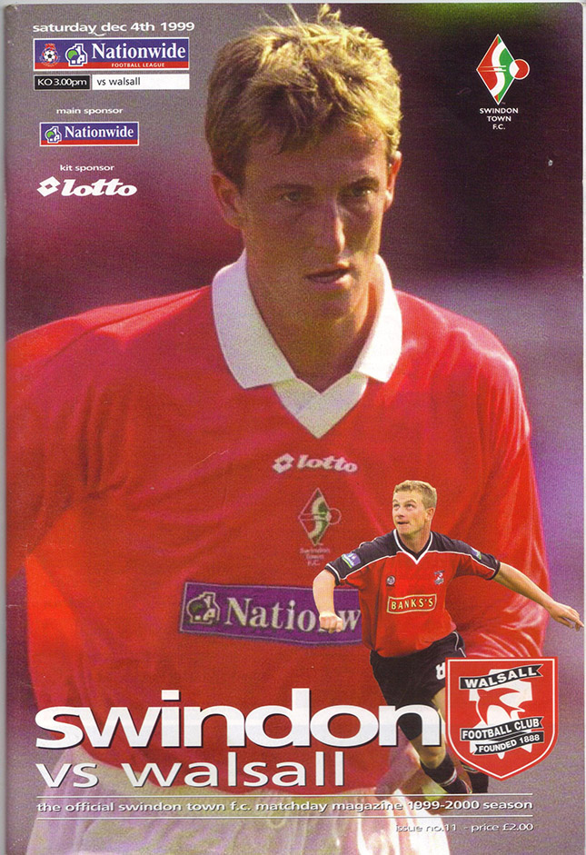 Saturday, December 4, 1999 - vs. Walsall (Home)