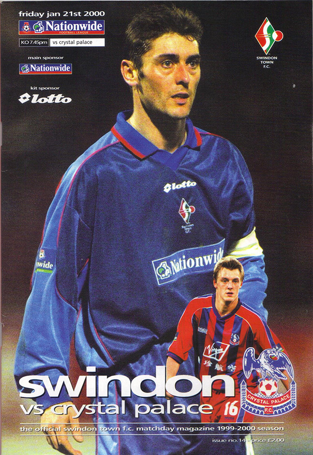 Friday, January 21, 2000 - vs. Crystal Palace (Home)