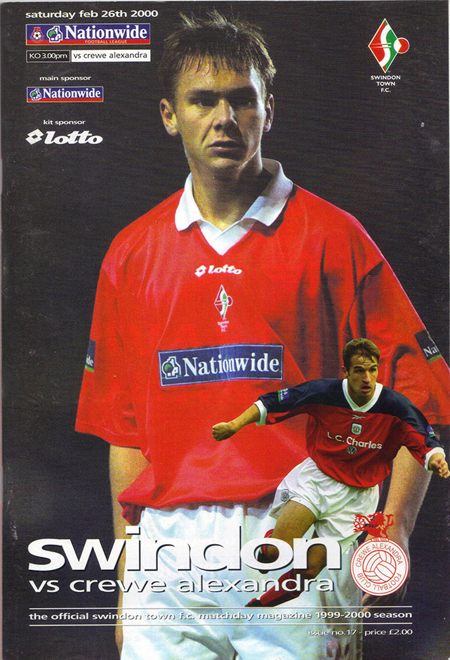 Saturday, February 26, 2000 - vs. Crewe Alexandra (Home)