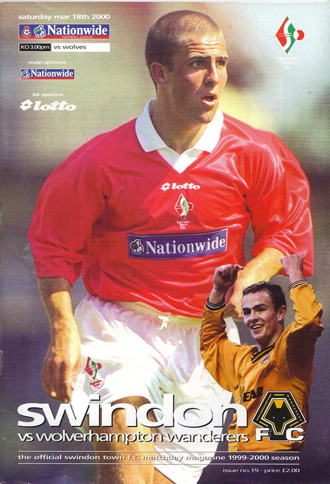 Saturday, March 18, 2000 - vs. Wolverhampton Wanderers (Home)