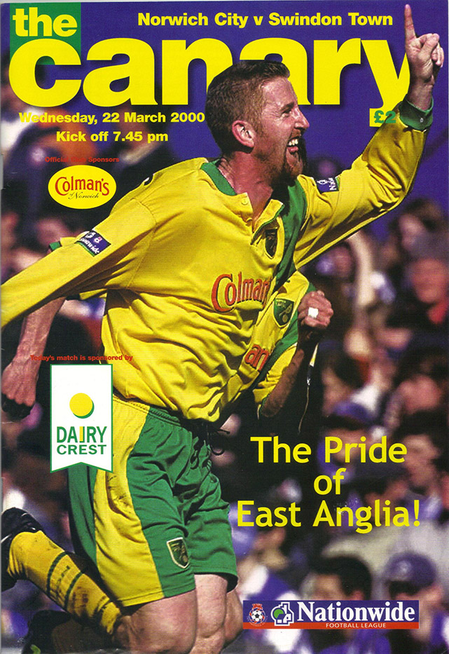 Wednesday, March 22, 2000 - vs. Norwich City (Away)