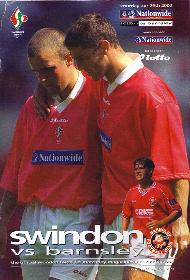 Saturday, April 29, 2000 - vs. Barnsley (Home)