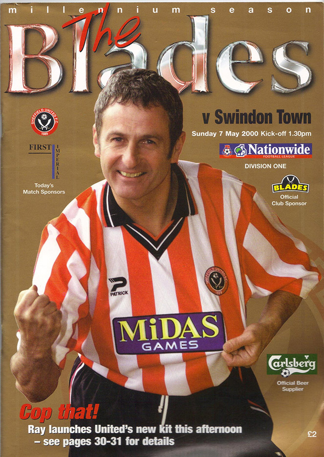 Sunday, May 7, 2000 - vs. Sheffield United (Away)