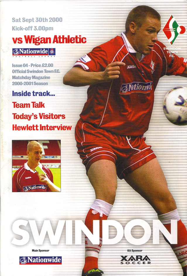 Saturday, September 30, 2000 - vs. Wigan Athletic (Home)