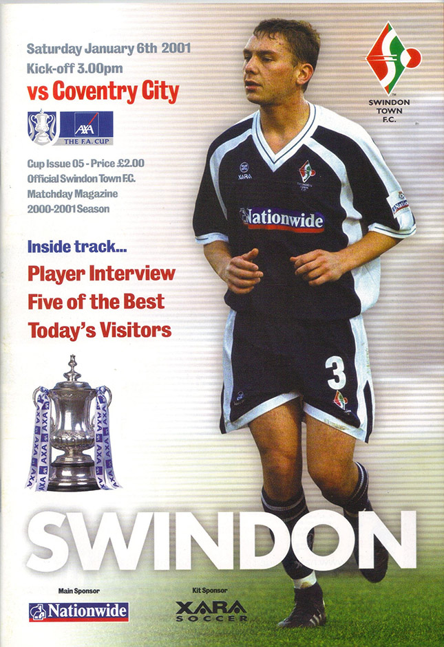 Saturday, January 6, 2001 - vs. Coventry City (Home)