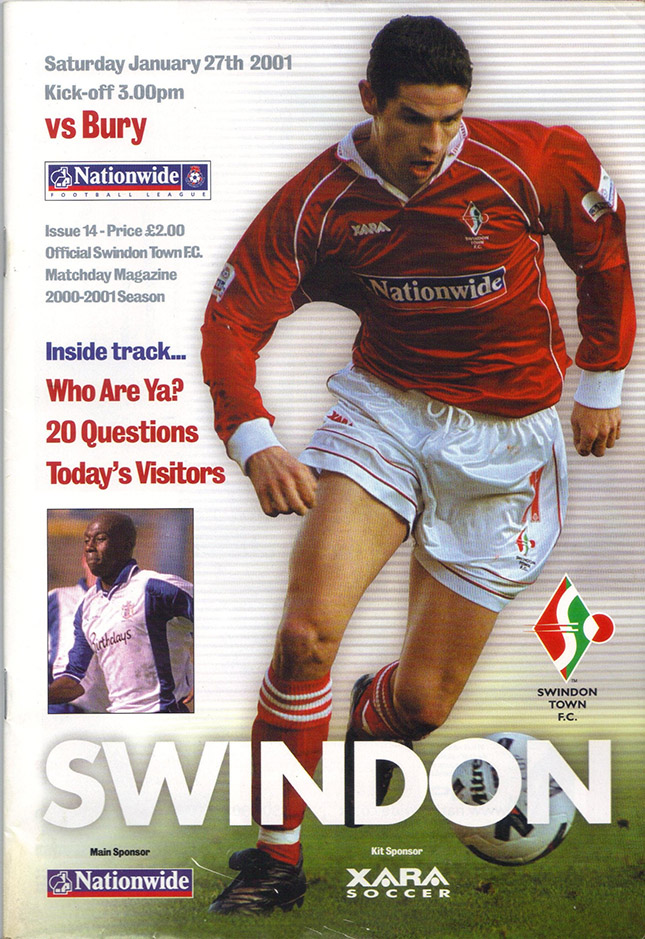 Saturday, January 27, 2001 - vs. Bury (Home)