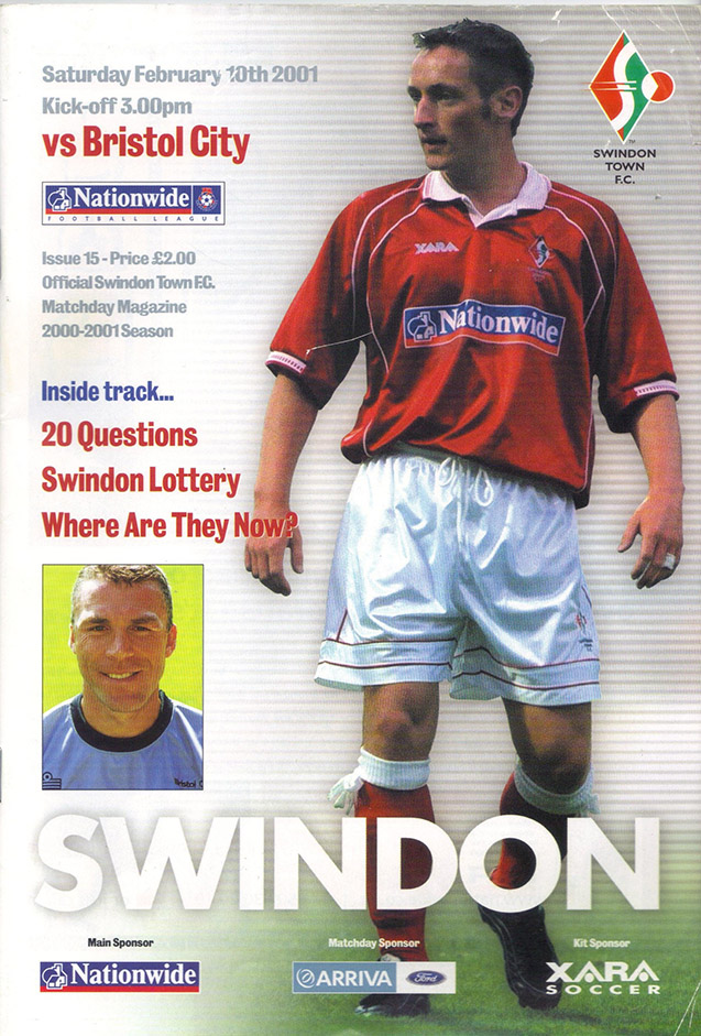 Saturday, February 10, 2001 - vs. Bristol City (Home)