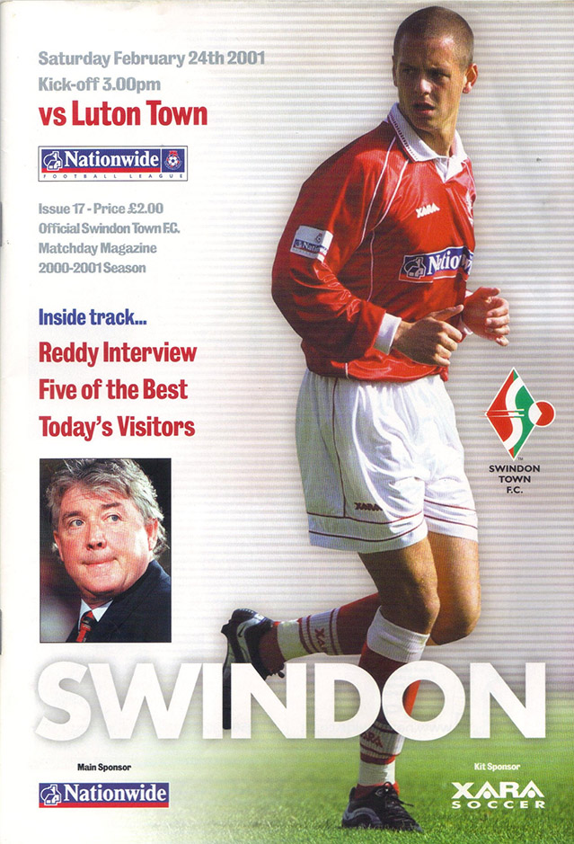 Saturday, February 24, 2001 - vs. Luton Town (Home)