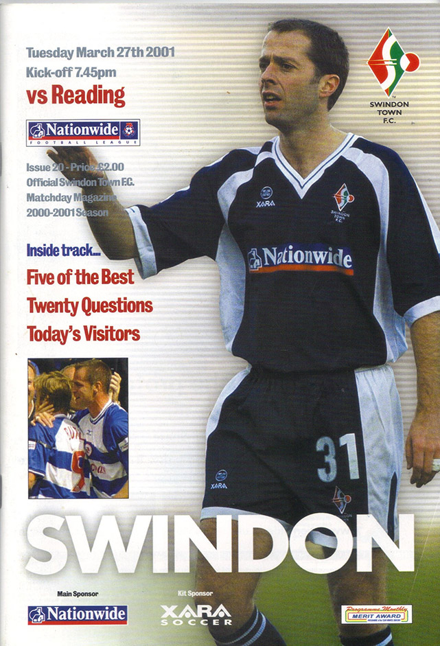 Tuesday, March 27, 2001 - vs. Reading (Home)