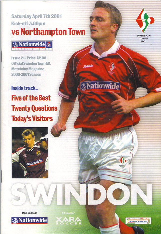 Saturday, April 7, 2001 - vs. Northampton Town (Home)