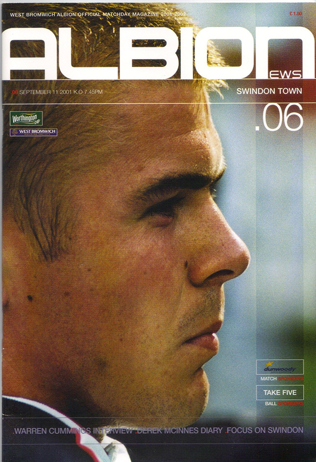 Tuesday, September 11, 2001 - vs. West Bromwich Albion (Away)