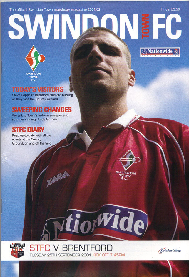 Tuesday, September 25, 2001 - vs. Brentford (Home)