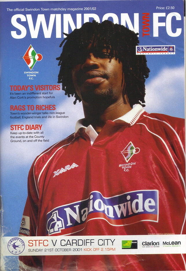 Sunday, October 21, 2001 - vs. Cardiff City (Home)
