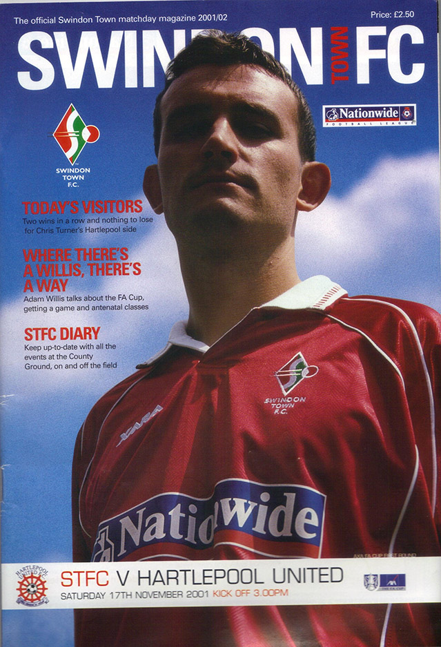 Saturday, November 17, 2001 - vs. Hartlepool United (Home)