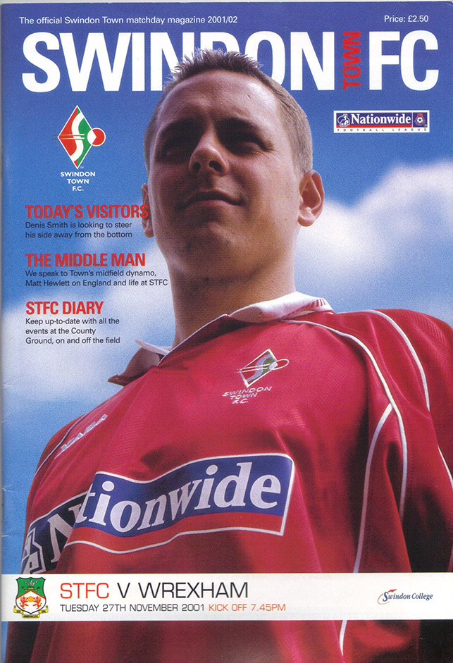 Tuesday, November 27, 2001 - vs. Wrexham (Home)