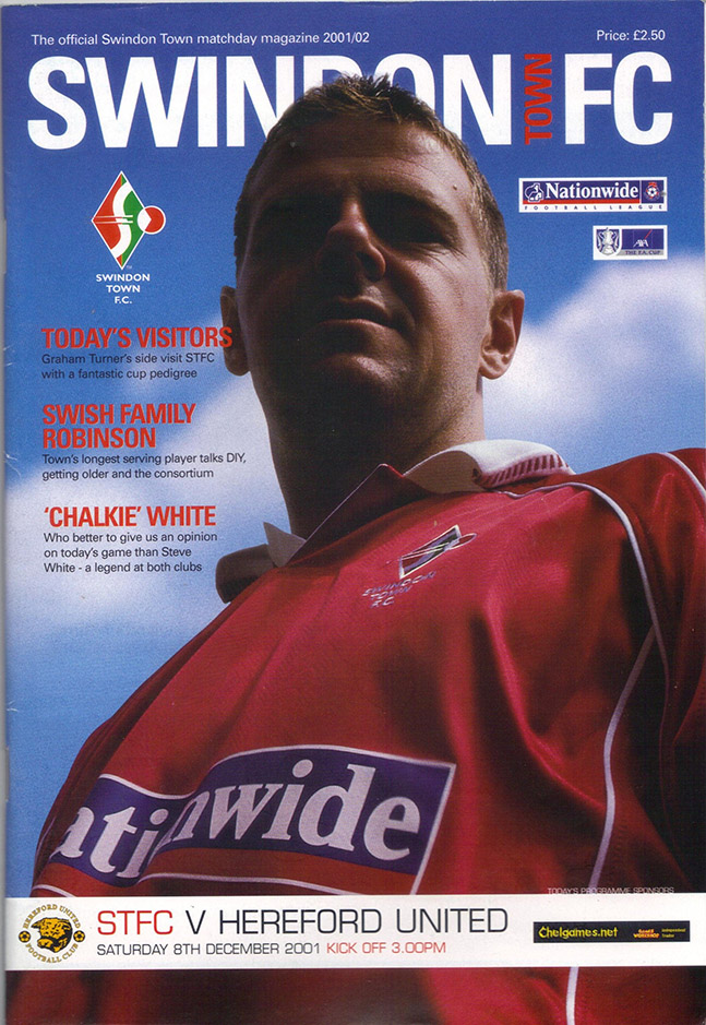 Saturday, December 8, 2001 - vs. Hereford United (Home)