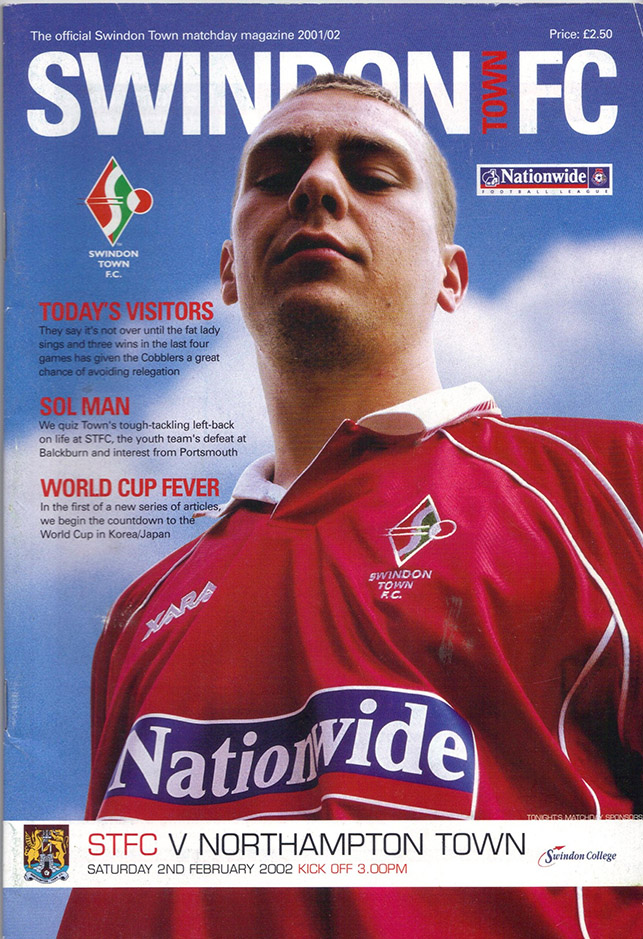 Saturday, February 2, 2002 - vs. Northampton Town (Home)
