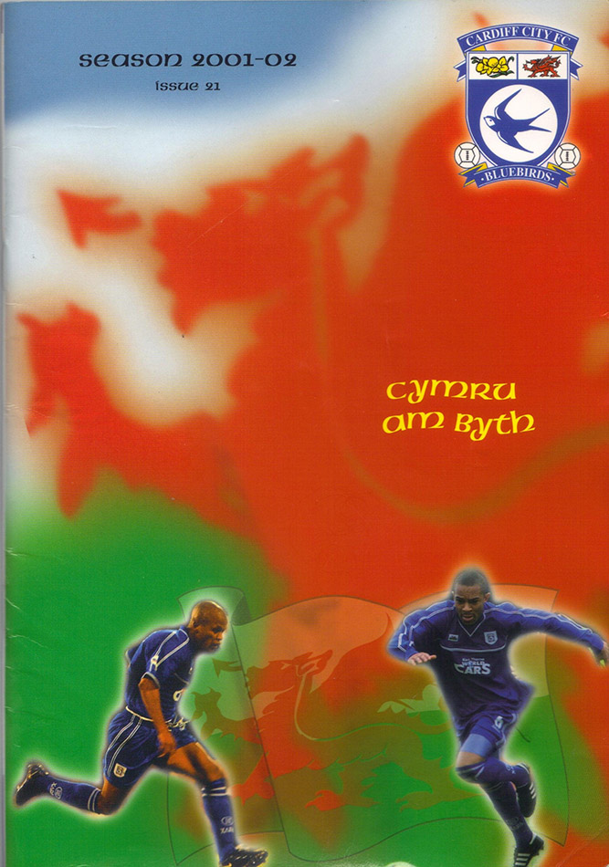 Saturday, February 9, 2002 - vs. Cardiff City (Away)