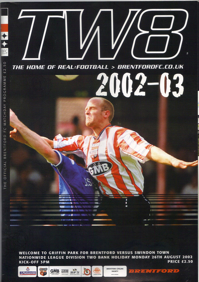 Monday, August 26, 2002 - vs. Brentford (Away)