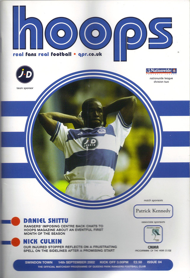 Saturday, September 14, 2002 - vs. Queens Park Rangers (Away)
